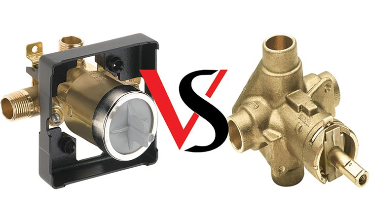 Delta Vs Moen Shower Valves