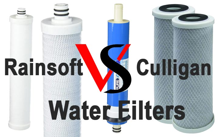 Rainsoft Vs Culligan Water Filters